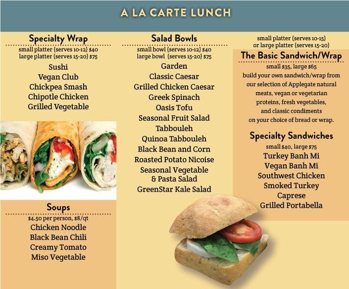 LunchAlaCarte