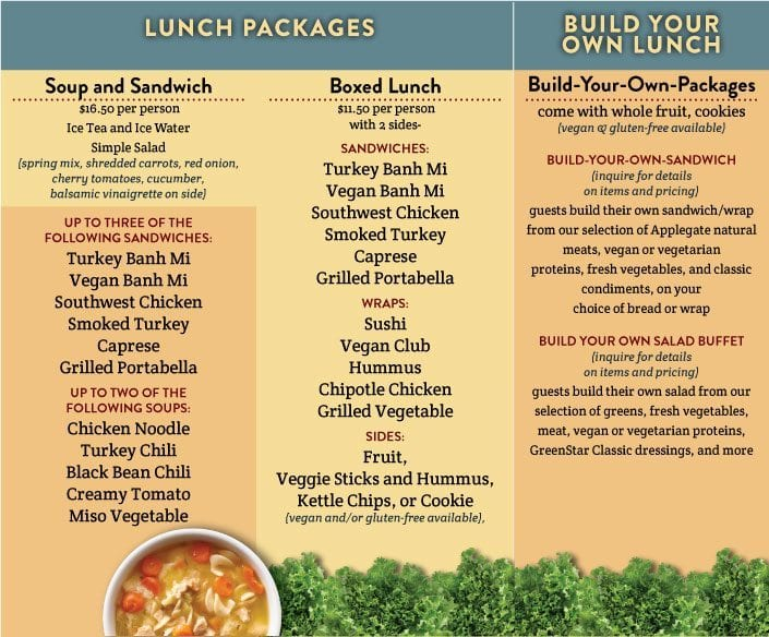 LunchPackages