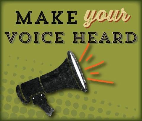 Make Your Voice Heard! - GreenStar