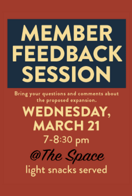 Member Feedback Session