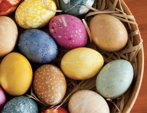 Celebrate Spring with Naturally Dyed Eggs