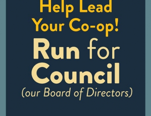 Help Lead Your Co-op — Run for the Board of Directors