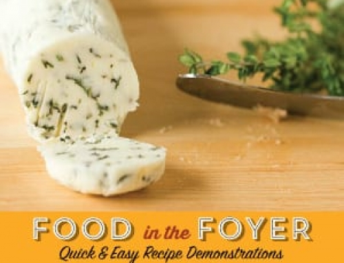 Food in the Foyer: Compound Butter