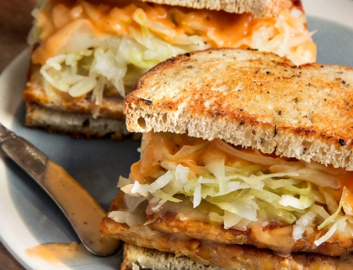 Build Your Own Tempeh Reuben