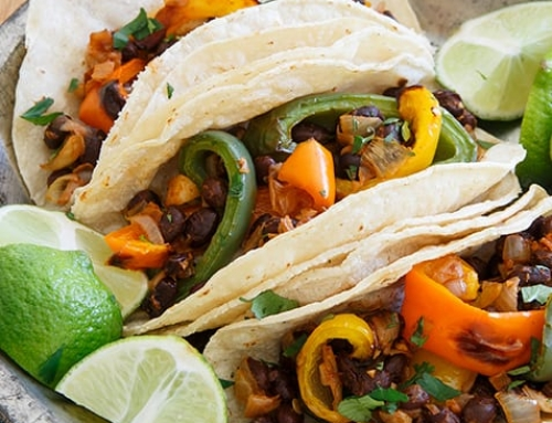 Celebrate Cinco de Mayo with Charred Pepper Tacos
