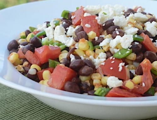 Summer Side: Black Bean and Corn Salad
