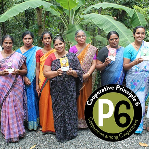 Members of Fair Trade Alliance of Kerala, India