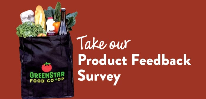 Product Line Feedback Survey!