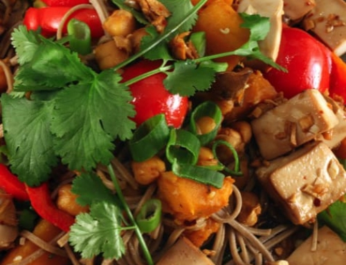 Hot and Spicy Tofu