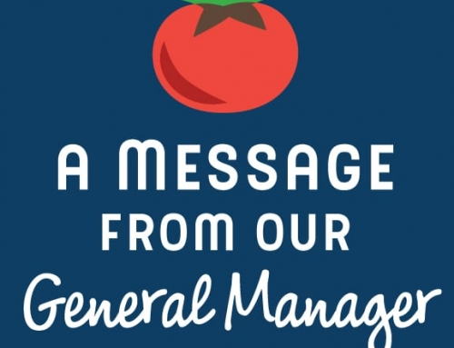 A Message from GreenStar's General Manager