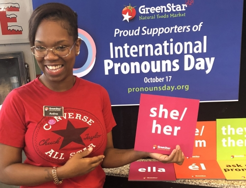 Celebrating International Pronouns Day at GreenStar