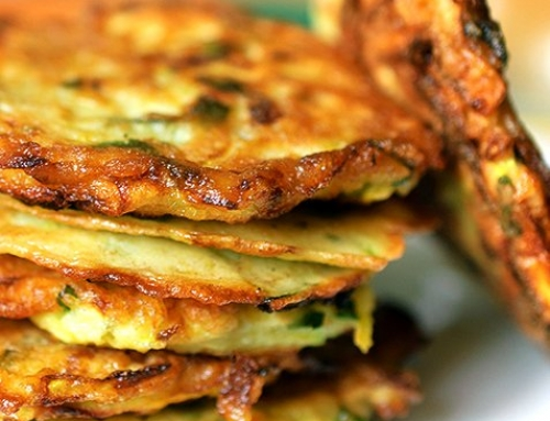 Scallion Pancakes for Chinese New Year