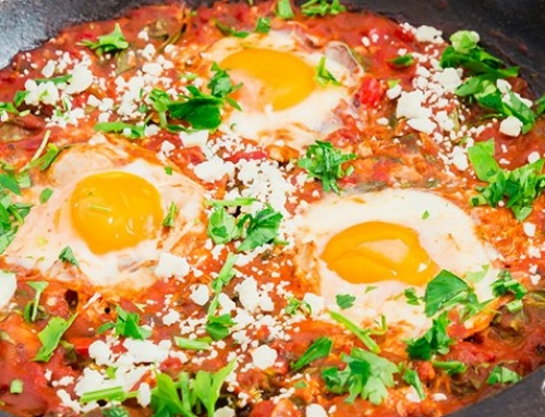 Shakshuka with Spinach