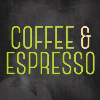 Coffee & Espresso Menu