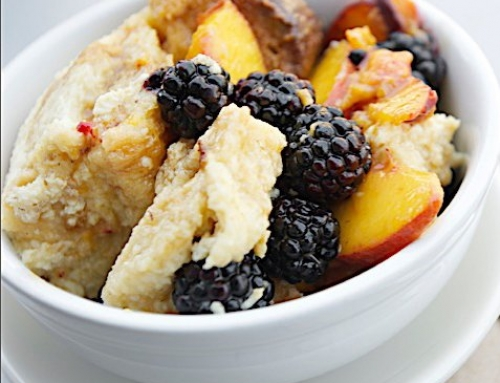 Fruit-Topped Bread Pudding