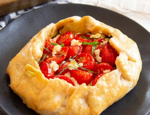 Cherry Tomato and Pesto Galettes