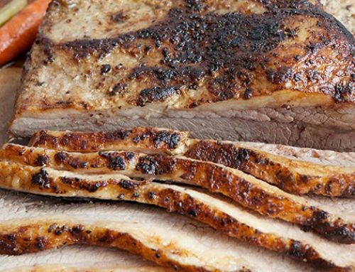 Maple Mustard Brisket